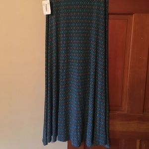 LuLaRoe Medium Maxi Skirt